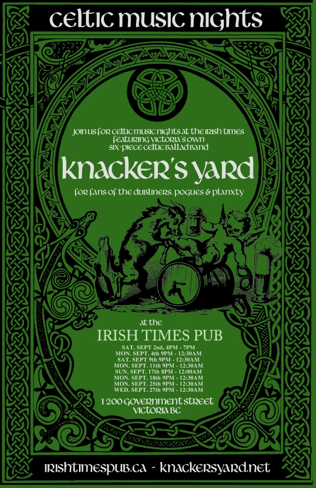 irish time september