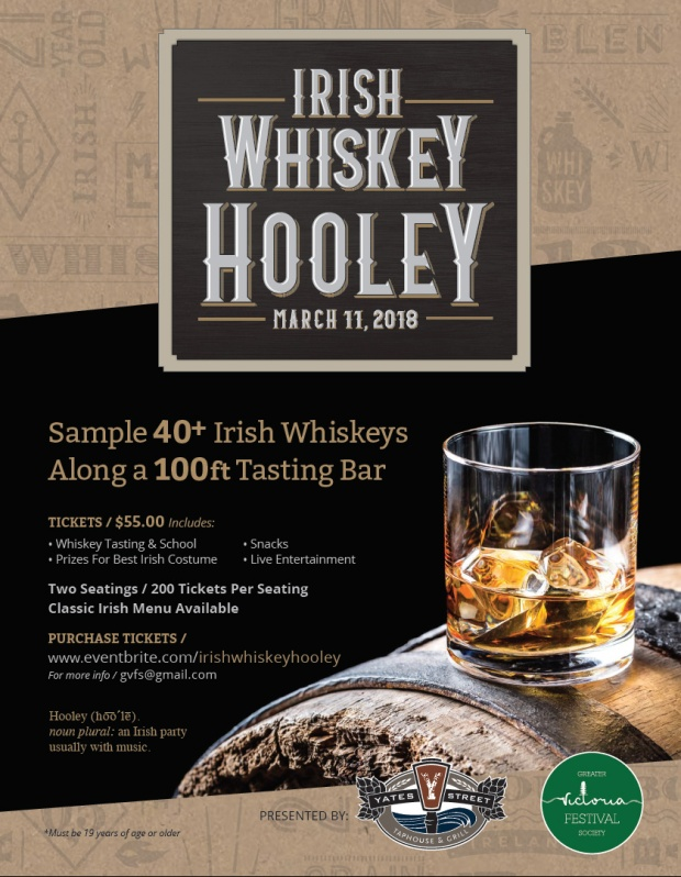 irish whiskey hooley