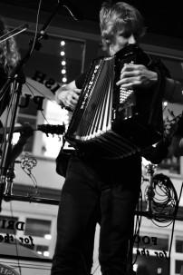 Steve on accordion