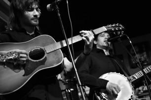 Jon on the Gibson steel string
